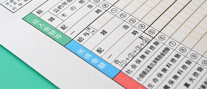 確定申告書における「収入金額等」「所得金額」の記入欄