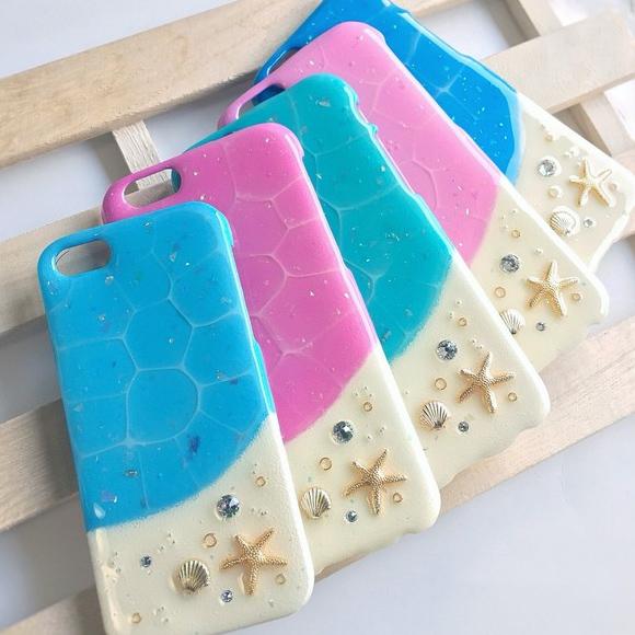 商品画像「南国リゾートの砂浜を連想させるiPhoneケース」