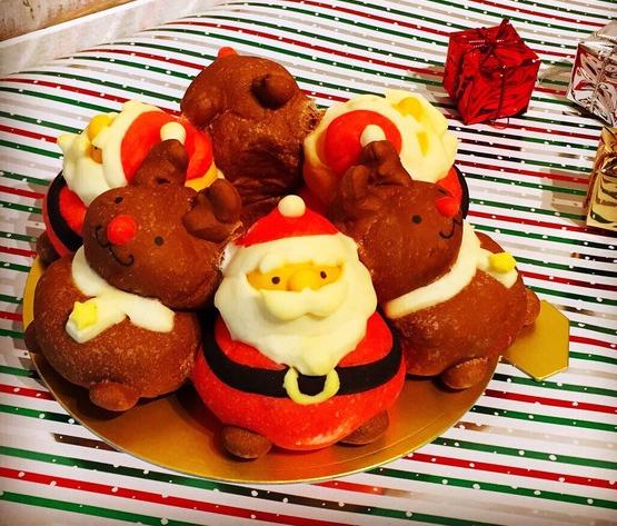 商品画像「クリスマスちぎりパン」